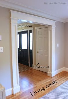 Adding Wider Trim Mouldings   Adding Additional Layers Of Trim And Crown  Moldings Adds So Much Character To A Room And Gives Your Home A Custom  Built Look ...
