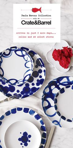Paola Navone Collection arrives in just 2 days on 09.09.13 I Crate and Barrel