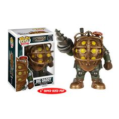 BioShock Big Daddy 6-Inch Pop! Vinyl Figure - Funko - Bioshock - Pop! Vinyl Figures at Entertainment Earth