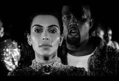Kanye West & Kim Kardashian Can't Stop Crying In New Wolves Music Video! Watch!