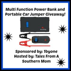 Car Jumper Emergency Giveaway 3/23 ~ Tales From A Southern Mom