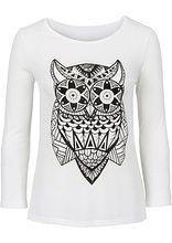 Shirt z nadrukiem Śliczny shirt z dużym • 34.99 zł • bonprix