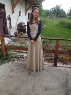My very first medieval dress