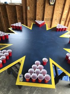 Table games beer pong Ideas for 2019 - HOSTEL - Drinking games Backyard Party Games, Diy Yard Games, 21st Birthday Games, Drinking Games For Parties, Beer Drinking Games, Outdoor Drinking Games, Outdoor Games, Beer Games, Casa Halloween