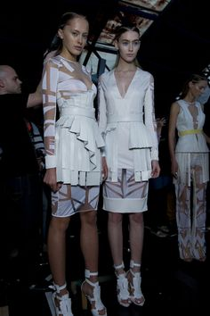 David Koma SS12: Welcome to the home of fashion innovation – it has to be London Fashion Week #topshop #LFW #SS12