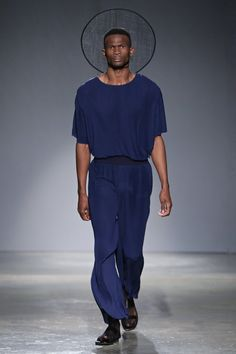 Lukhanyo Mdingi South Africa Menswear Week - #Trends #Tendencias #Moda Hombre - SDR Photo