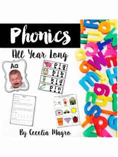 Almost 600 pages of phonics lessons and growing!  In this growing bundle you will receive daily lesson plans and all supplemental resources to teach phonics effectively all year long. Each lesson takes approximately 15 minutes to teach. You may use the supplemental resources, activities, books, centers, games, stations, in the classroom or as homework, center/daily five work, or assessment. This bundle is for whole class instruction or can be used as an intervention.