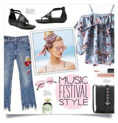 """""""Show Time: Best Festival Trend"""" by mahafromkailash ❤ liked on Polyvore featuring WithChic, MAC Cosmetics, Dolce&Gabbana and Beach Riot"""
