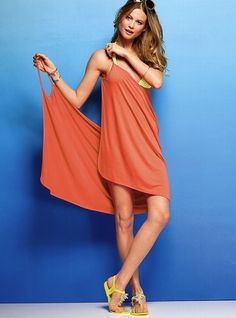 Pretty sure I can make this swim suit cover-up instead of paying 40 bucks!
