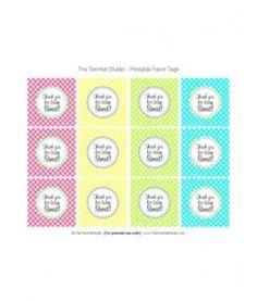 FREE Ice Cream Party Designs - Tomkat Studio