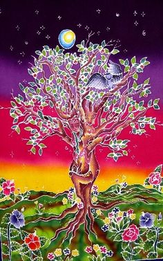 ✯ Sister Tree Nature Altar Cover ✯