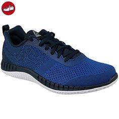 Ex-O-Fit Lo Clean Logo Int, Baskets Basses Homme, AR3169_39 EU_White/Royal Blue/Royal Blue, 42.5 EUReebok