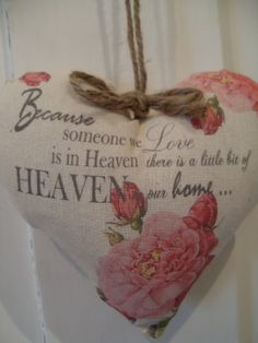 Because someone we love is in heaven Pink by Thelavenderhutcom, £9.08