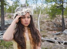 Watchful | Portrait with Northern Canada inspiration | Yellowknife Canada | Swift Sparrow Photography