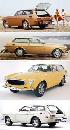 Volvo 1800 ES, 1972. The shooting brake version of the 1800E coupe was only produced for 2 years with 8,077 cars made in total.
