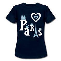 Die Silhouette von Paris, der Haupstadt Frankreichs an der Seine mit seine bekannten Sehenswürdigkeiten wie den Eifelturm, der Triumphbogen, Notre Dame, der moulin rouge, dem Louvre und weiter Bauten