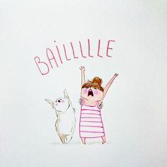 'Baile'. #Illustration by Faustine inspired in Regina Spektor song 'You've got time'