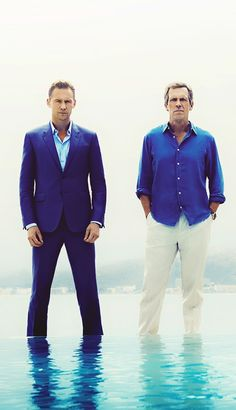 Tom Hiddleston and Hugh Laurie, The Night Manager. Source: http://www.tvguide.com/news/tom-hiddleston-hugh-laurie-the-night-manager-photos/ (Full size image: http://ww4.sinaimg.cn/large/6e14d388gw1f1k84m1gvij20xc0xcgrd.jpg)