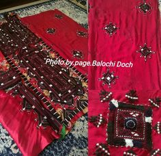 Balochi Dress, Beautiful Moon, Culture, Embroidery, Female, Clothes For Women, Holiday Decor, Traditional, Places