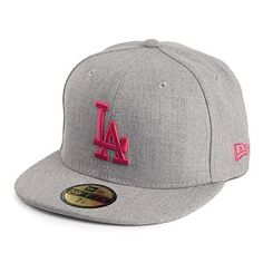 Casquette 59FIFTY L.A. Dodgers gris NEW ERA