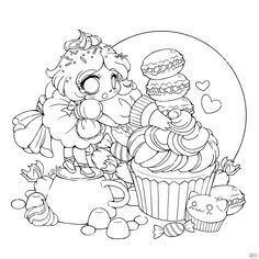 http://colorings.co/fairy-anime-chibi-coloring-pages-for-girls/ #Pages, #Coloring, #Fairy