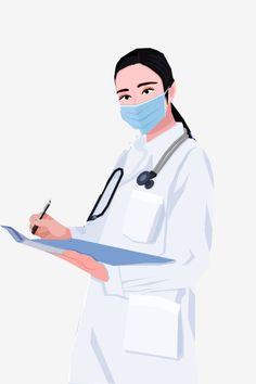 Medical Clip Art, Doctor Mask, A Doctor, Woman Doctor, Doctor Drawing, Medical Wallpaper, Nurse Art, Medicine Student, 2 Logo