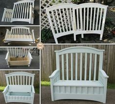 Old cot, new chair