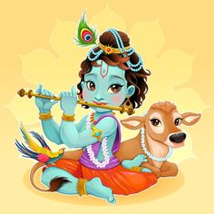 Find Baby Krishna Sacred Cow Vector Cartoon stock images in HD and millions of other royalty-free stock photos, illustrations and vectors in the Shutterstock collection. Thousands of new, high-quality pictures added every day. Baby Krishna, Little Krishna, Cute Krishna, Radha Krishna Photo, Krishna Art, Radhe Krishna, Hanuman, Durga, Janmashtami Images