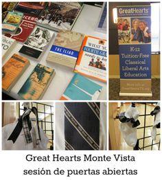 Great Hearts Monte Vista sesión de puertasabiertas   San Antonio Charter Moms