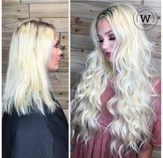 @wild.and.pretty.hairstudio Kills it with this Goldilocks Glamour! Want the look? Check out Bohyme weft extensions!