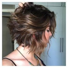90+ Latest Best Short Hairstyles, Haircuts & Short Hair Color Ideas... ❤ liked on Polyvore featuring beauty products, haircare and hair styling tools