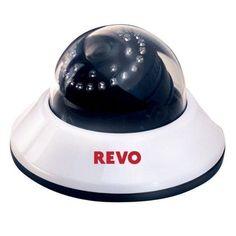 Indoor Dome CCTV Security Camera 600TVL 30IR 80' Day Night Quick Connect 3.6mm #RevoAmerica