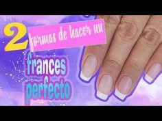 Clase #3 Francés perfecto 💅( esmalte semipermanente ) Funnailstatyz ❤ - YouTube Acrylic Nails At Home, Candy, Youtube, Tumblr, Enamels, Baby Pillows, Colorful Nails, Sweets, Tumbler