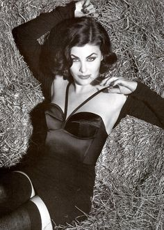 Sherilyn Fenn by Steven Meisel