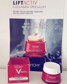 Vichy Liftactiv Collagen Specialist. Anti Aging, Healthy Skin, Skincare, Gingham, Self Help, Collages, Nursing Care, Face, Skincare Routine