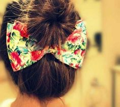 Bun ♡ so doing this! I'm obsessed with bows!!!