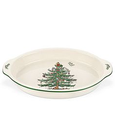 Spode Bakeware, Christmas Tree Au Gratin  $45  Spode Dinnerware, Christmas Tree Collection - Macy's