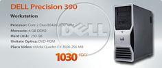 Calculator Second Hand Dell Precision 390 Core 2 Duo E6420 2.13 GHz, Quadro FX 3500 -1030 RON!