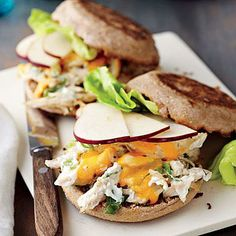 Chicken Salad Melts | CookingLight.com