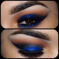 royal eye makeup - Google Search