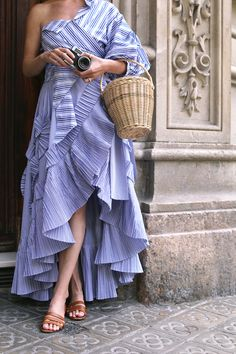 Ruffle Wrap Skirt: J.Crew (also pre-ordered this one). Top: Johanna Ortiz (a more simple option here and similar here both under $100). Shoes: Madewell (as seen here and here). Sunglasses: Illesteva. Hat: Jcrew. Basket Bag:...Read More