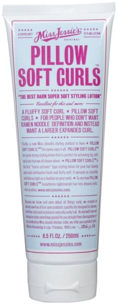 Amazon.com: Miss Jessies A Super Soft Styling Lotion Pillow Soft Curls 8.5 oz: Health & Personal Care
