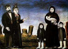 Niko Pirosmanashvili Title English: Childless Millionaire and a Poor Woman Blessed with Children Framed Prints, Canvas Prints, Religious Images, Naive Art, Painting For Kids, Children Painting, Poster Size Prints, Photo Greeting Cards, Illustrators