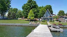 Magnificent 6 Bedroom Cottage On The Water With Spectacular Water Views - Town of Alexandria Thousand Islands, New Builds, Home And Away, Alexandria, Cottage, Smoke, Vacation, Park, Bedroom