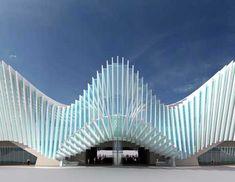 Angela McKenzie : Reggio Emilia Station | Santiago Calatrava