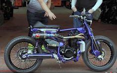 450cc Custom Bobber, Custom Bikes, Minibike, Scooter Motorcycle, Motor Scooters, Mopeds, Biker Girl, Scrambler, Bike Life