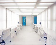 Interior, Creativity and Contemporary Approach in Interior Office Design: Outstanding White Interior Office Design.
