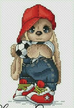 Needlepoint Patterns, Counted Cross Stitch Patterns, Cross Stitch Designs, Cross Stitch Embroidery, Cute Cross Stitch, Modern Cross Stitch, Everything Cross Stitch, Cute Bunny, Embroidery Kits