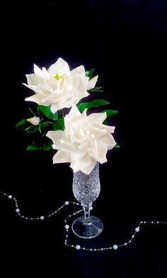 Gumpaste Gardenias