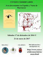 Censos de aves coordinados en España y Marruecos